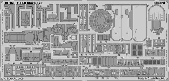 F-16D Block 52+ S.A. 1/48  - 2