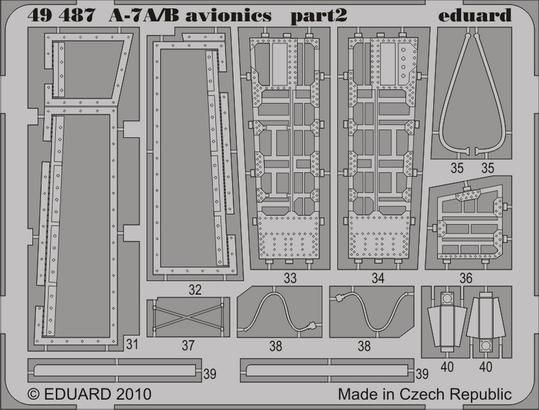 A-7A/B 電子機器 1/48  - 2