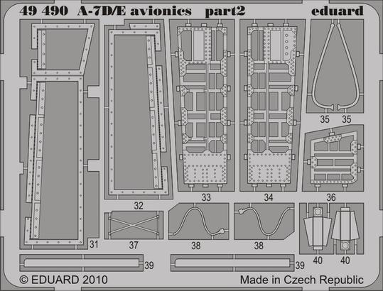 A-7D/E авионика 1/48  - 2