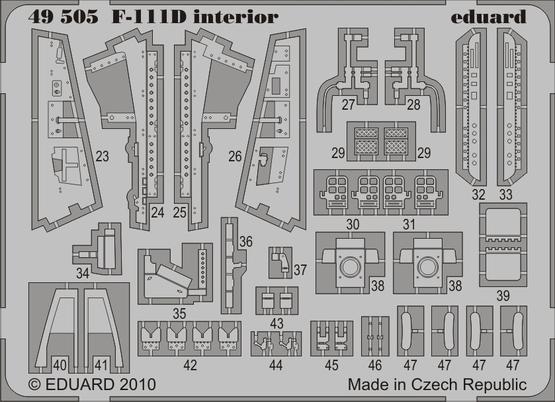 F-111D interior S.A. 1/48  - 2