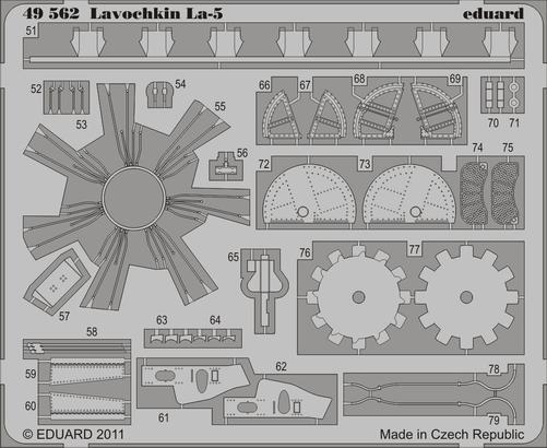 Lavochkin La-5 S.A. 1/48  - 2