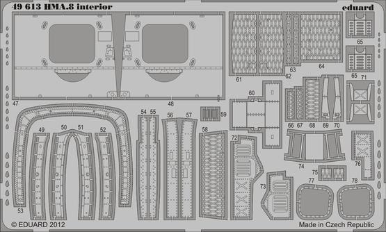 Lynx HMA.8 interior S.A. 1/48  - 2