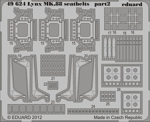 Lynx Mk.88 seatbelts 1/48  - 2