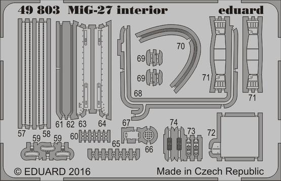 MiG-27 interior 1/48  - 2
