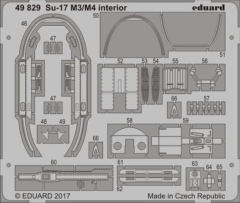 Su-17 M3/M4 interior 1/48  - 2