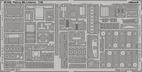 Walrus Mk.I interior 1/48  - 2