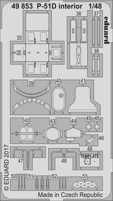 P-51D interior 1/48  - 2