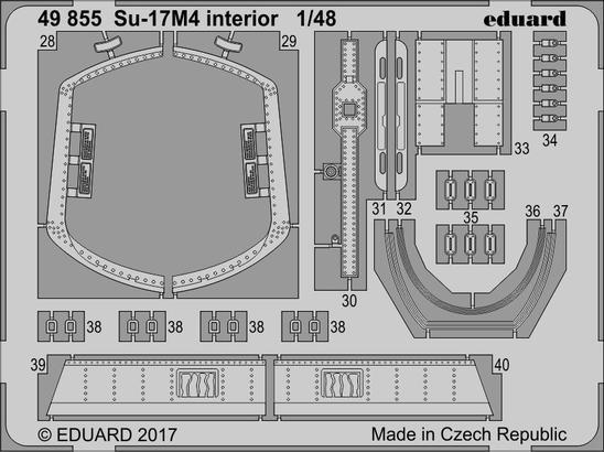 Su-17M4 interior 1/48  - 2
