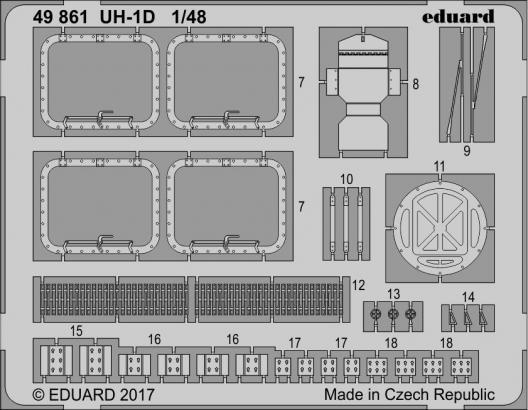 UH-1D 1/48  - 2