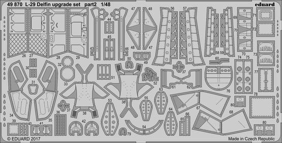 L-29 Дельфин, апгрейд-набор 1/48  - 2
