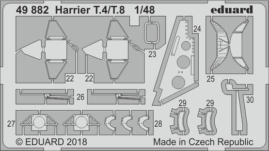 Harrier T.4/T.8 1/48  - 2