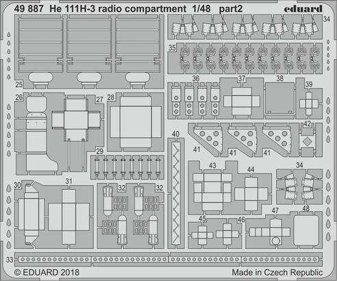 He 111H-3 radio compartment 1/48  - 2