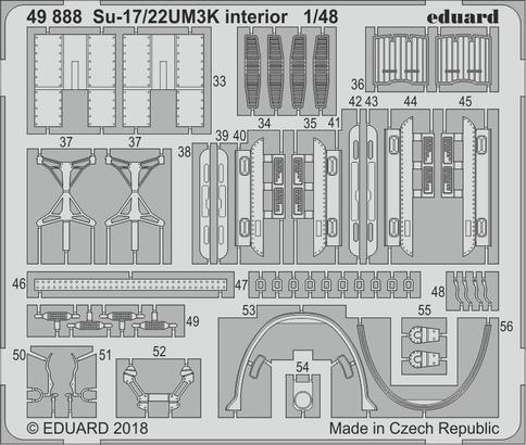 Su-17/22UM3K interior 1/48  - 2