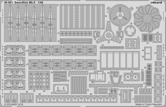 ソードフィッシュ Mk.II 1/48  - 2