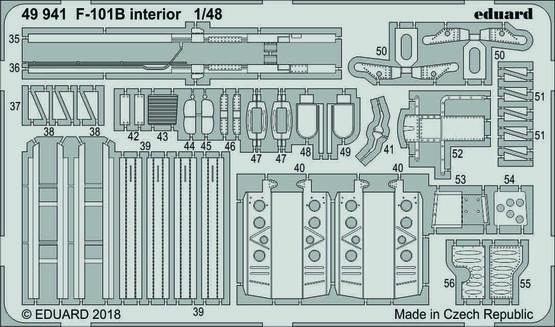 F-101B interior 1/48  - 2
