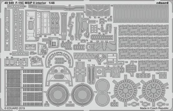F-15C MSIP II interior 1/48  - 2