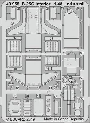B-25G interior 1/48  - 2