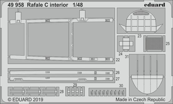 Rafale C interior 1/48  - 2