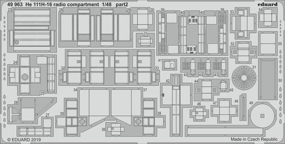He 111H-16 radio compartment 1/48  - 2