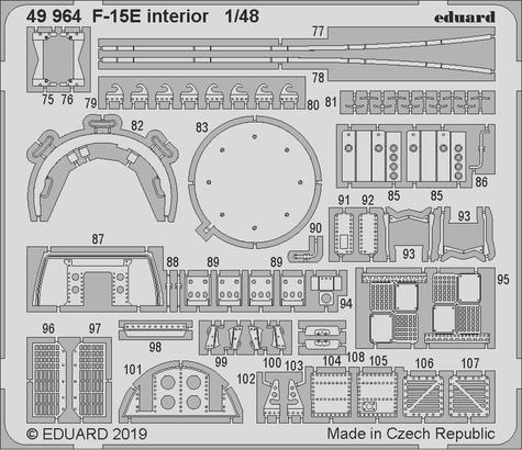 F-15E interior 1/48  - 2