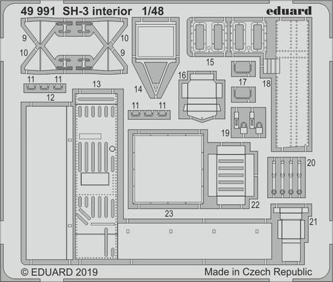 SH-3 interior 1/48  - 2