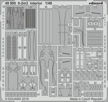 Ил-2м3 интерьер 1/48  - 2
