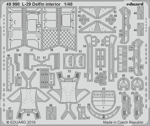 L-29 Delfin interior 1/48  - 2