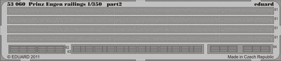 Prinz Eugen railings 1/350  - 2