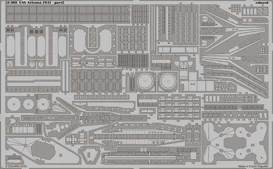 USS Arizona 1941 1/350  - 2