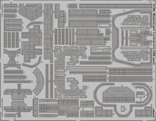 Bismarck part 4 - central area 1/200  - 2