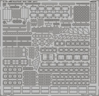 HMS Hood pt.5 deck 1/200  - 2