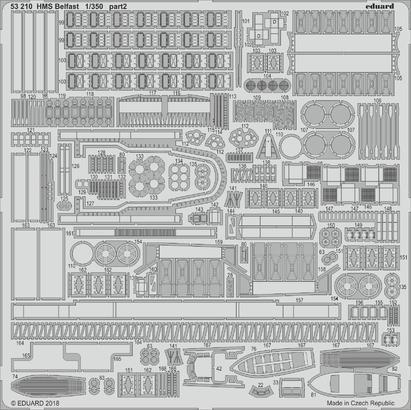 HMS Belfast 1/350  - 2