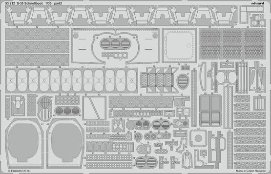 S-38 Schnellboot 1/35  - 2