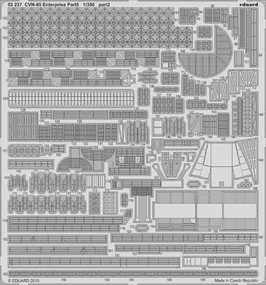 CVN-65 エンタープライズ パート5 1/350  - 2