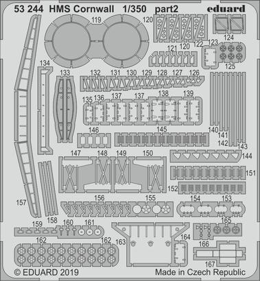 HMS コーンウォール 1/350  - 2