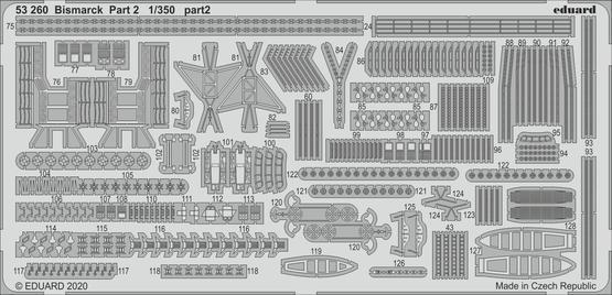 Bismarck part 2 1/350  - 2