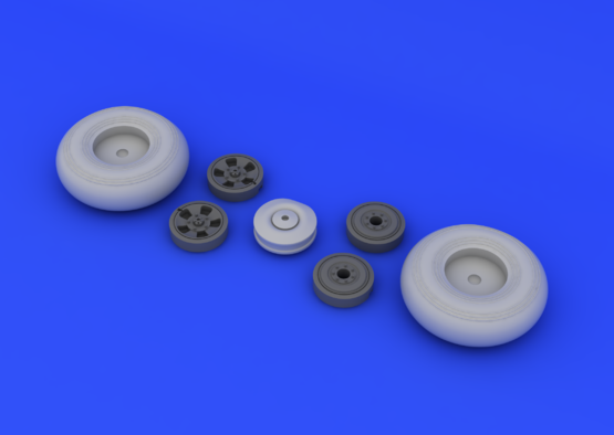Typhoon wheels  1/24 1/24  - 2
