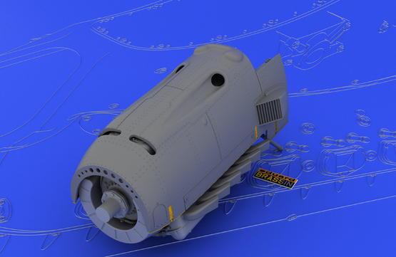 DB 601A/N engine  1/32 1/32  - 2