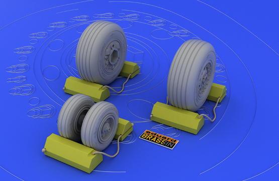 F-4J/S wheels 1/32  - 2