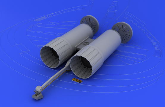 F-4 exhaust nozzles USAF late  1/32 1/32  - 2