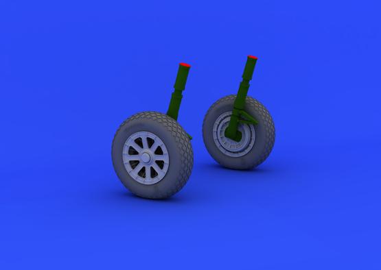 F4U-1 wheels 1/32  - 2