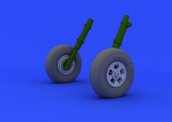 Spitfire Mk.I/II wheels  1/32 1/32  - 2