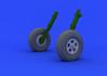 Spitfire Mk.I/II wheels  1/32 1/32 - 2/5