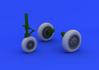 F-104 undercarriage wheels early  1/32 1/32 - 2/5
