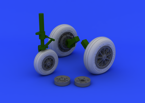 F-104 undercarriage wheels late 1/32  - 2