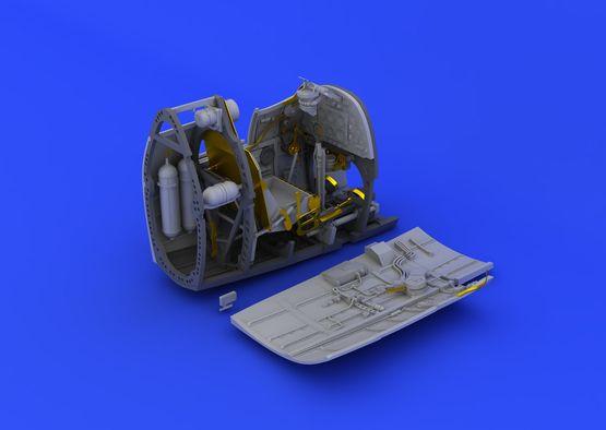 Spitfire Mk.II kokpit 1/32  - 2