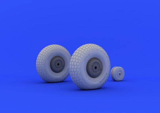 Mosquito Mk.VI wheels  1/32 1/32  - 2