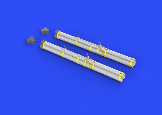 Bazooka rocket launchers for P-40 1/32  - 2