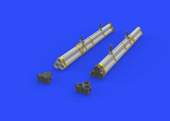 Bazooka rocket launchers for P-47 1/32  - 2