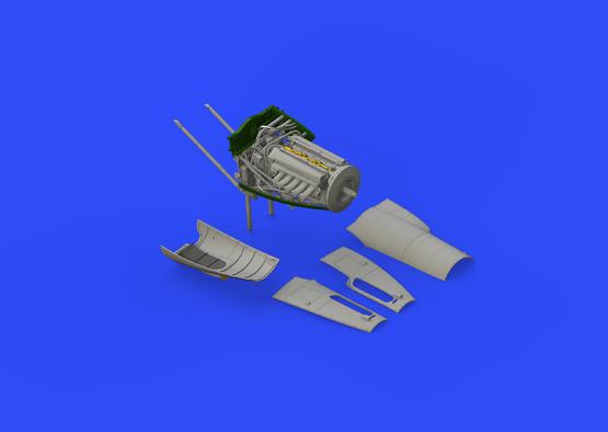 Mosquito FB Mk.VI right engine  1/32 1/32  - 2
